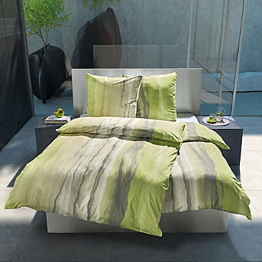 Estella interlock jersey 3-piece duvet cover set