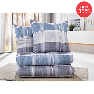 Erwin Müller cotton flannel saving pack, 4-parts