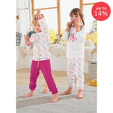 Erwin Müller single jersey 2-pack kids pyjamas