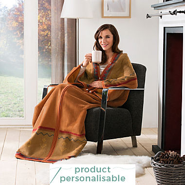 Erwin Müller blanket with sleeves