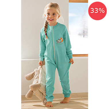 Erwin Müller interlock jersey kids sleepsuit