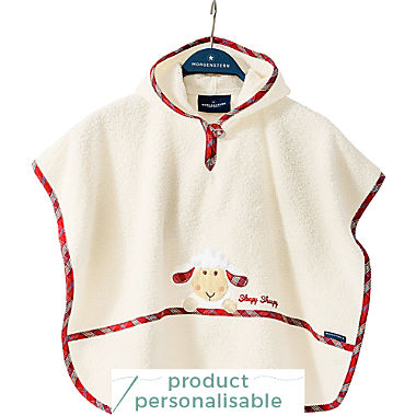 Morgenstern kids hooded poncho
