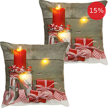 2-pack REDBEST LED cushion covers gift
