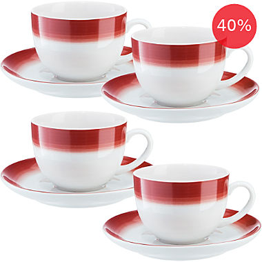 Gepolana by Erwin Müller coffee cup set, 8-parts