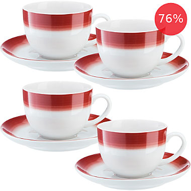 Erwin Müller coffee cup set, 8-parts