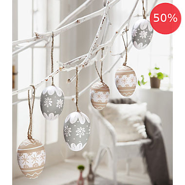 6-pack hanging decoration
