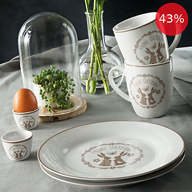 Gepolana 6-piece Easter breakfast set
