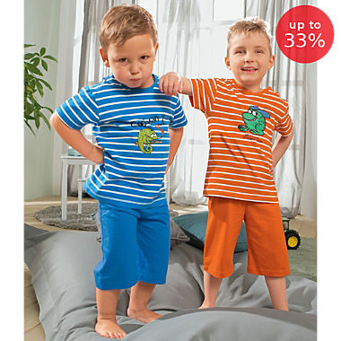 Erwin Müller single jersey 2-pack kids short pyjamas set