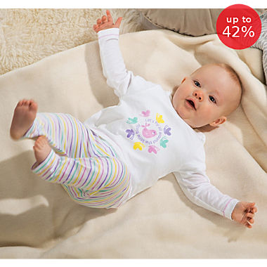 Erwin Müller 2-piece baby clothing set