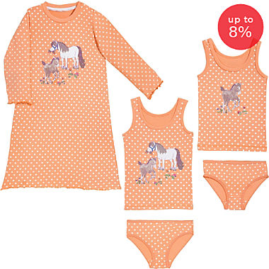 Erwin Müller single jersey 5-piece pj & underwear set