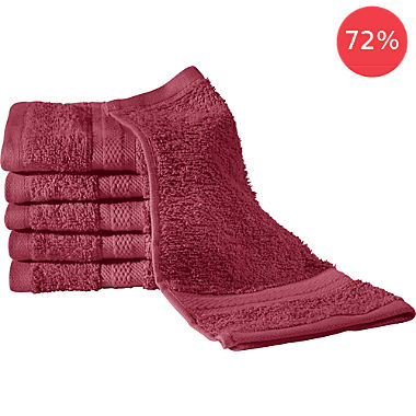 REDBEST 6-pack face cloths