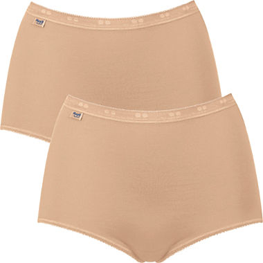 Sloggi 2-pack women's full briefs