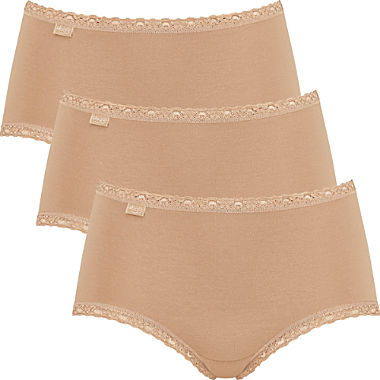 Sloggi 3-pack women's hipster briefs