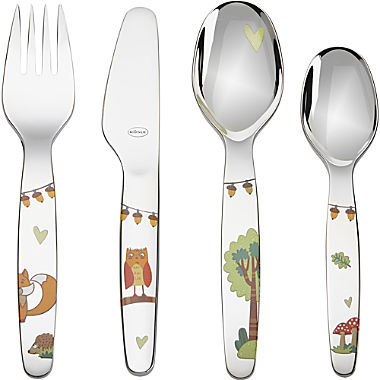 Rösle 4-piece children's cutlery set