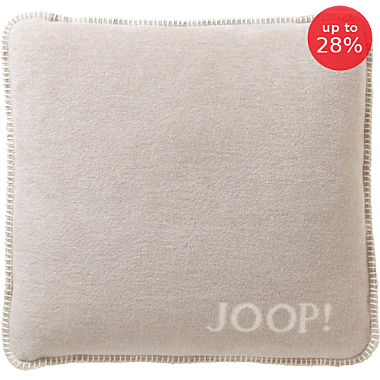 Joop! plain coloured cushion