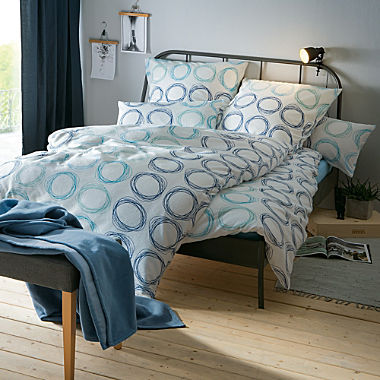 Dyckhoff soft terry towelling duvet cover set