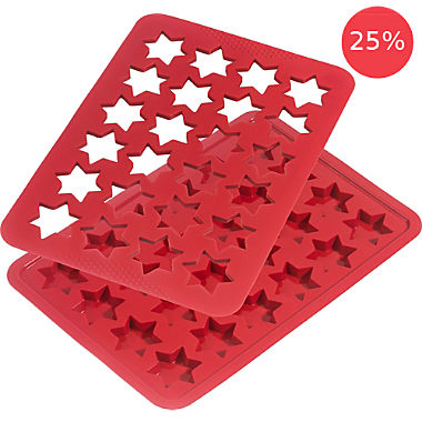 Kaiser Christmas star buiscuit baking sheet set, 2-parts