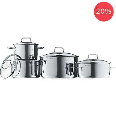 WMF 8-piece cookware set