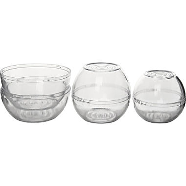 Fackelmann 3-pack food savers for onion or lemon