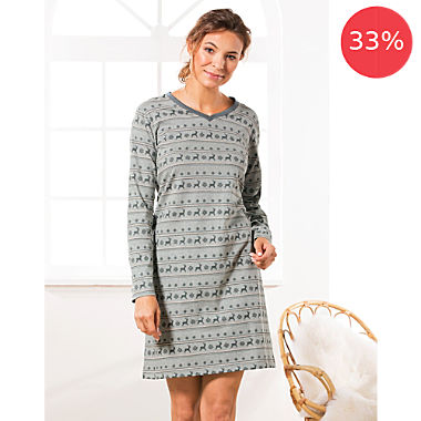REDBEST single jersey nightdress