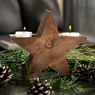 candle holder star