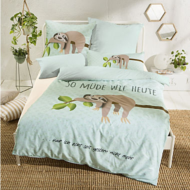 Erwin Müller renforcé reversible duvet cover set