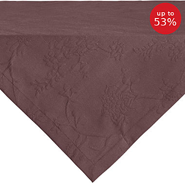 Erwin Müller easy-iron square tablecloth