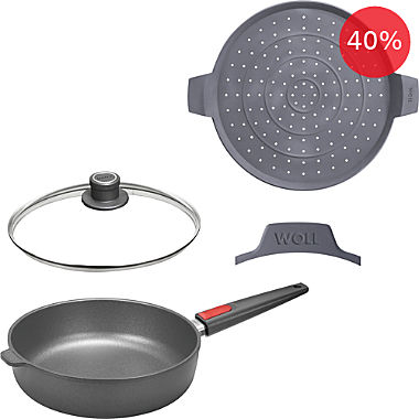 Woll frying pan set, 4-parts