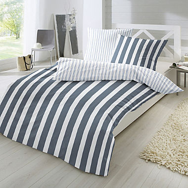 Primera percale reversible duvet cover set