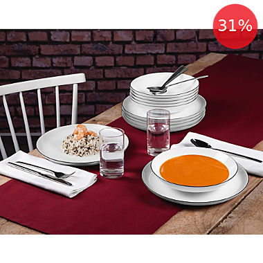 Seltmann Weiden 12-piece tableware set
