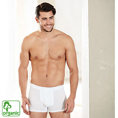 Ammann men's organic cotton boxer briefs