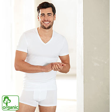 Ammann men's organic cotton underwear T-shirt