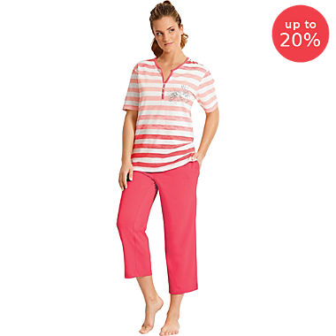 Hajo Klima Komfort single jersey women short pyjamas