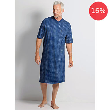 hajo single jersey men´s nightshirt