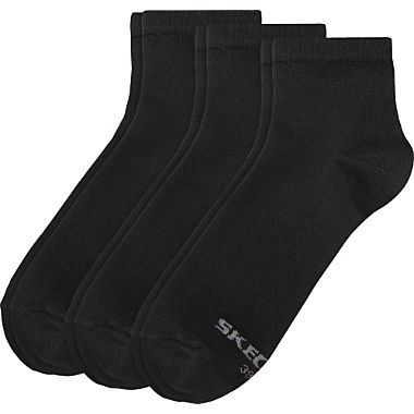 Skechers Footwear men quarter-socks 3-pack