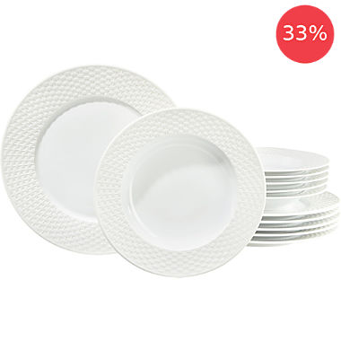 Erwin Müller 12-pc tableware set