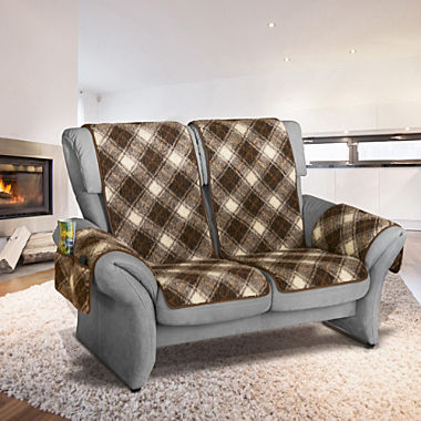 Erwin Müller 4-piece armchair & sofa cover set