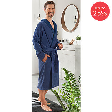Erwin Müller light velour bathrobe