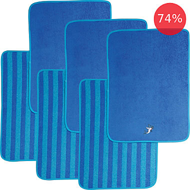 Erwin Müller 6-pack kids hand towels