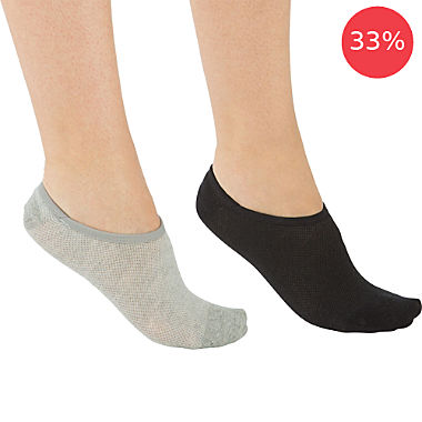 REDBEST 2-pack women's shoe liner socks
