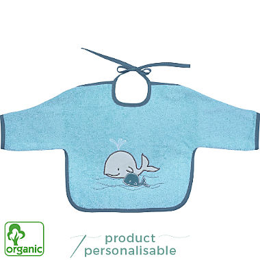 Wörner organic cotton bib with sleeves