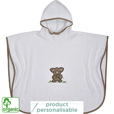 Wörner organic cotton kids hooded poncho