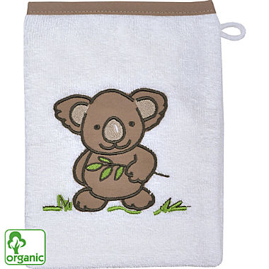 Wörner organic cotton kids wash mitt