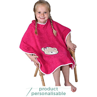 Wörner kids hooded poncho