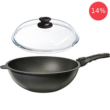 Erwin Müller induction wok & lid