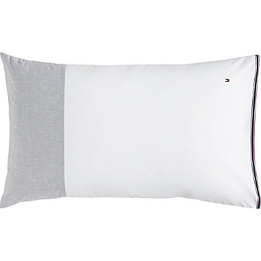 Tommy Hilfiger percale cushion cover