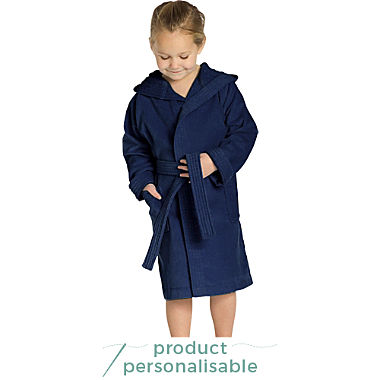Vossen kids hooded bathrobe