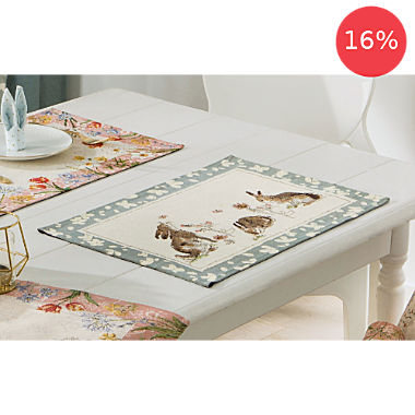 2-pack Sander gobelin tapestry table mats