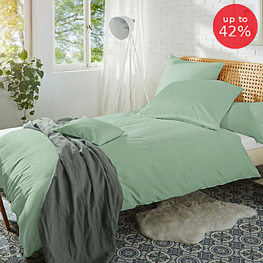 Erwin Müller Egyptian cotton damask duvet cover set