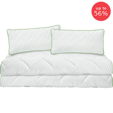 Erwin Müller lightweight quilted bed set